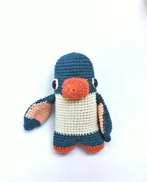 Lou el pingüino - patrón de ganchillo/amigurumi | Animales ...