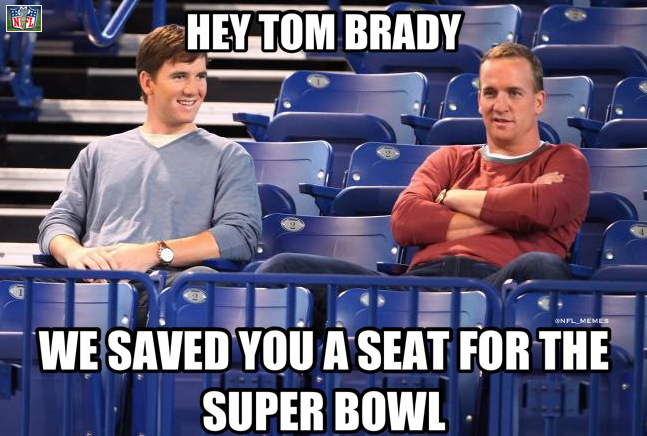 New England Patriots Lose In Playoffs Eli And Peyton Manning Save