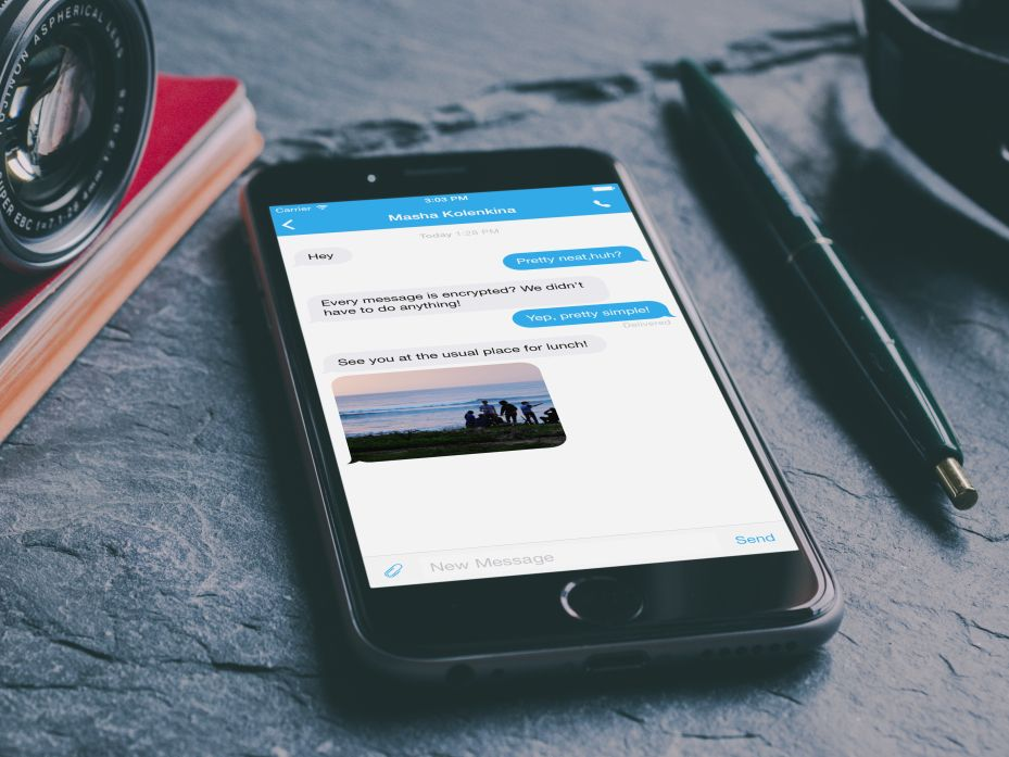 There's Now a Free iPhone App That Encrypts Calls and