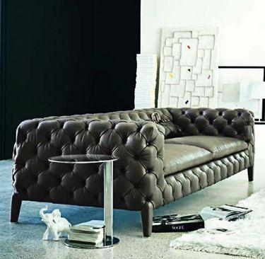 Leather Sofa Windsor by Arketipo Tasarım evler, Kanepeler