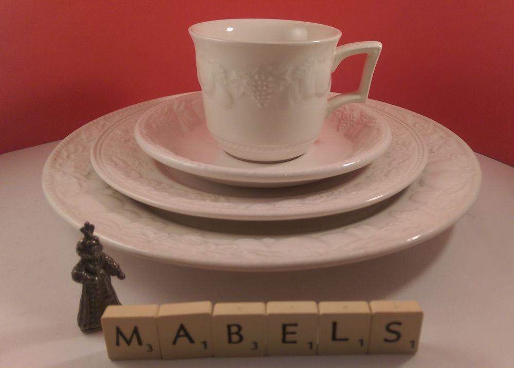 Bhs/BARRATTS ~LINCOLN~ dinner \u0026 salad plate cup \u0026 saucer & Bhs/BARRATTS ~LINCOLN~ dinner \u0026 salad plate cup \u0026 saucer   Bhs ...