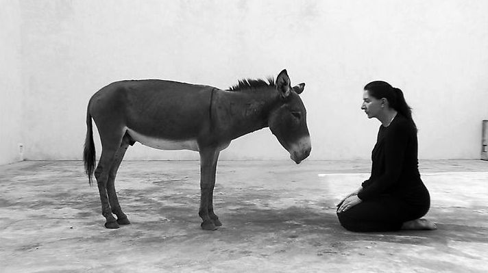 """Back to simplicity"" by Marina Abramovic"