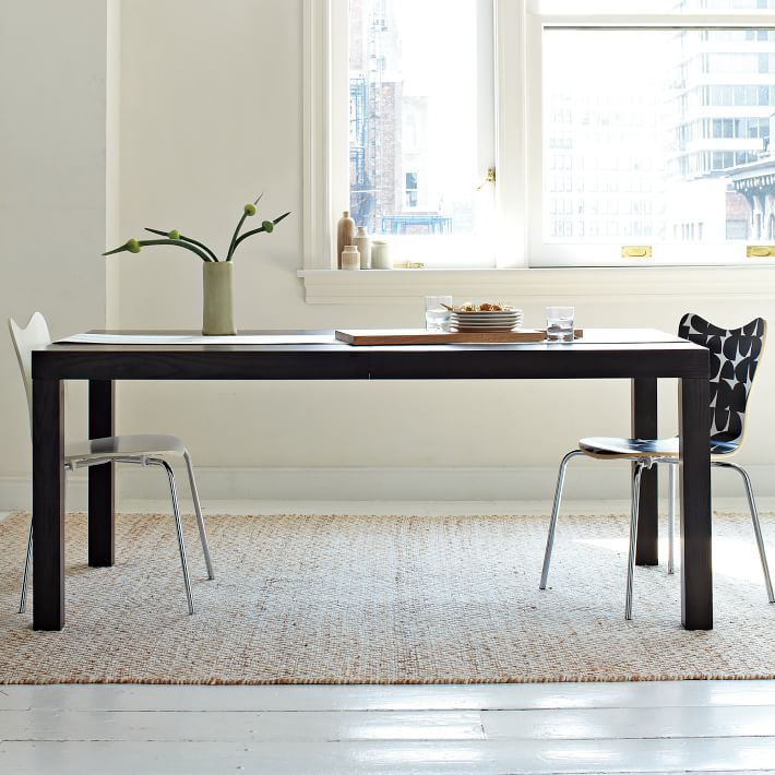 Emejing Parsons Dining Room Table Contemporary Liltigertoo