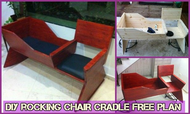 Stupendous Diy Rocking Chair Cradle Combo Baby Crib Free Plan Home Cjindustries Chair Design For Home Cjindustriesco