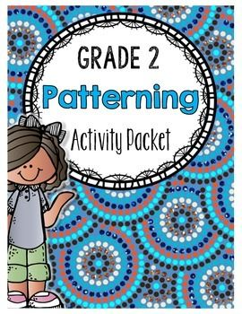 grade 2 patterning activity packet 2nd grade grade 2 patterning activities math. Black Bedroom Furniture Sets. Home Design Ideas