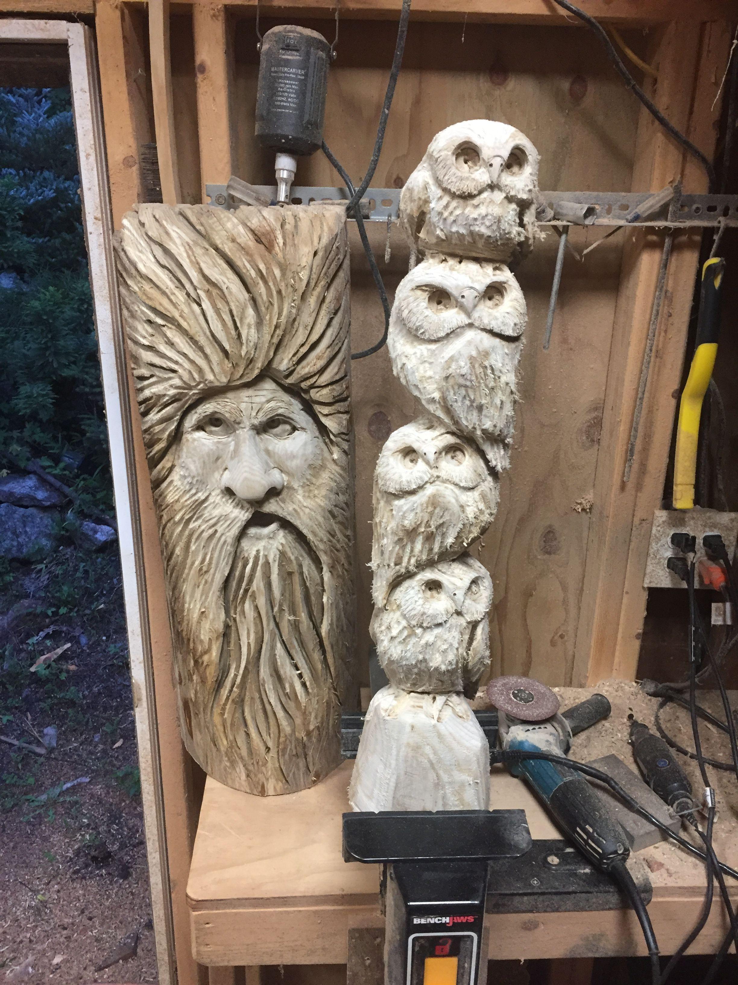 Pin by jim haggart carvings on jim haggart chainsaw carvings wood