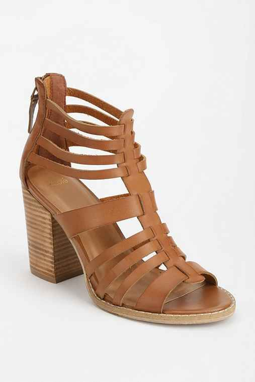 49dc220842fd Ecote Woven Back-Zip Heel - Urban Outfitters Types Of Heels