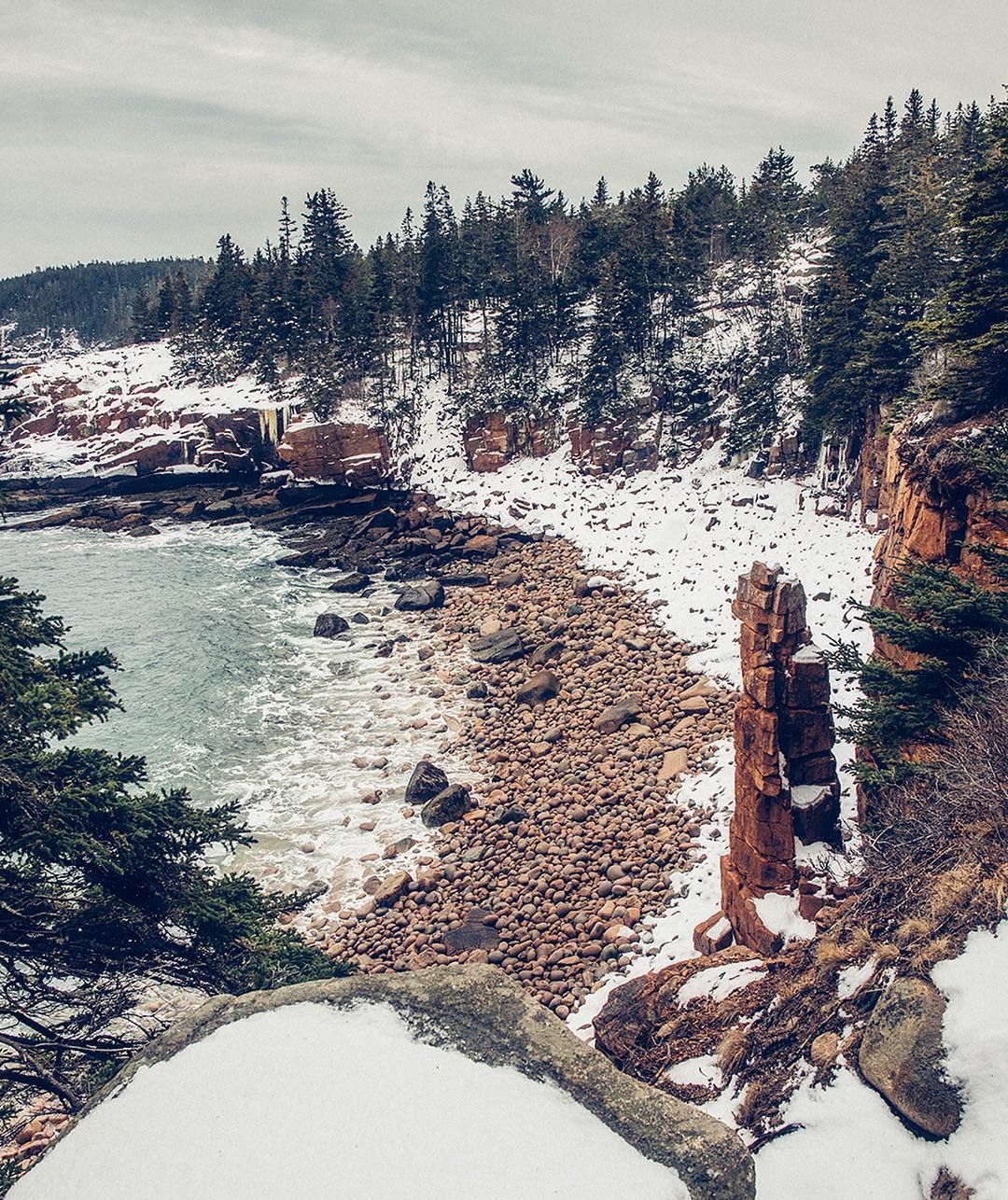 Landscape photography by @iloveacadianationalpark edited