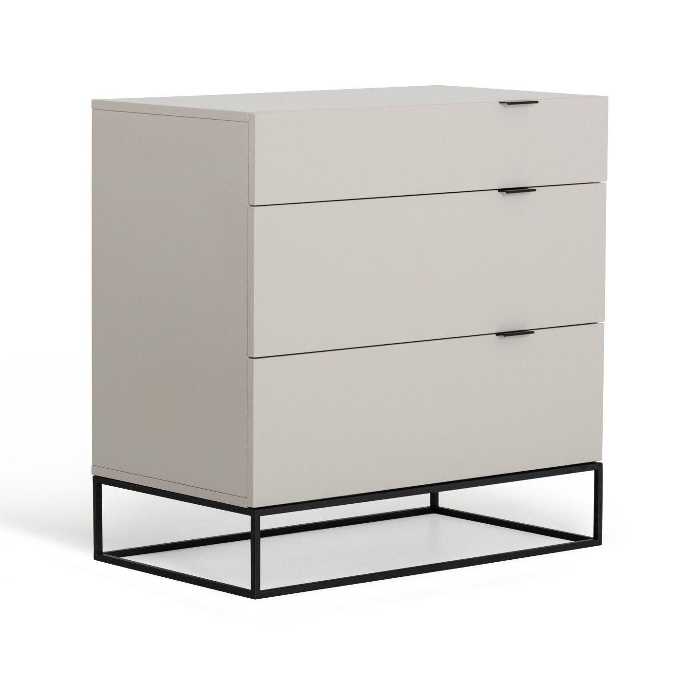 Patterson 3 Drawer Dresser Grey Dresser Modern Dresser Dresser As Nightstand [ 1397 x 1397 Pixel ]