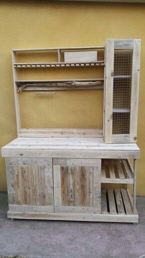 Meubles Cuisine Palettes Bois Flotte Wooden Crafts Home Decor