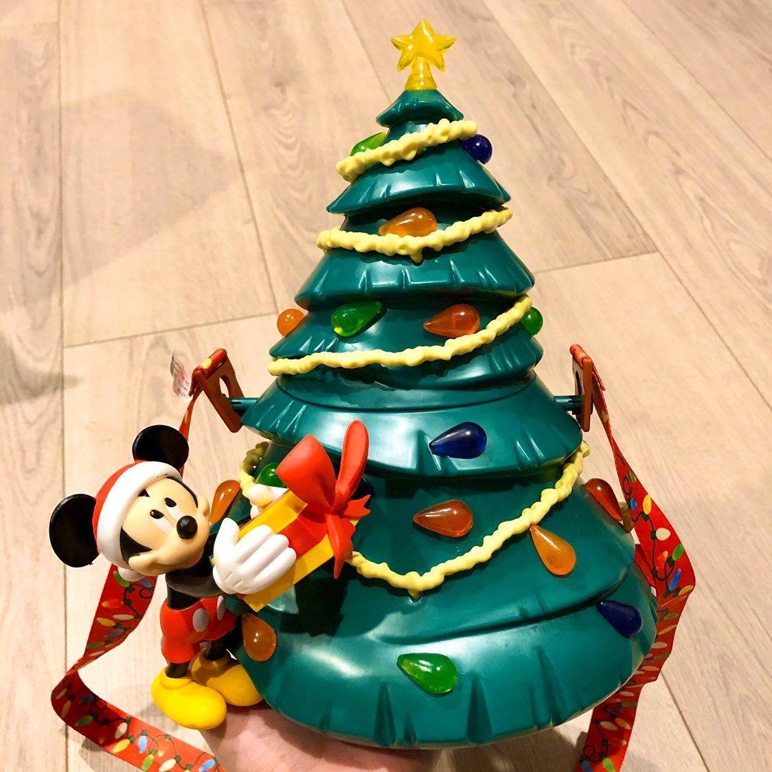 Brand new never been used. LIGHT UP Disney World Christmas Tree popcorn buckey. Very limited ...