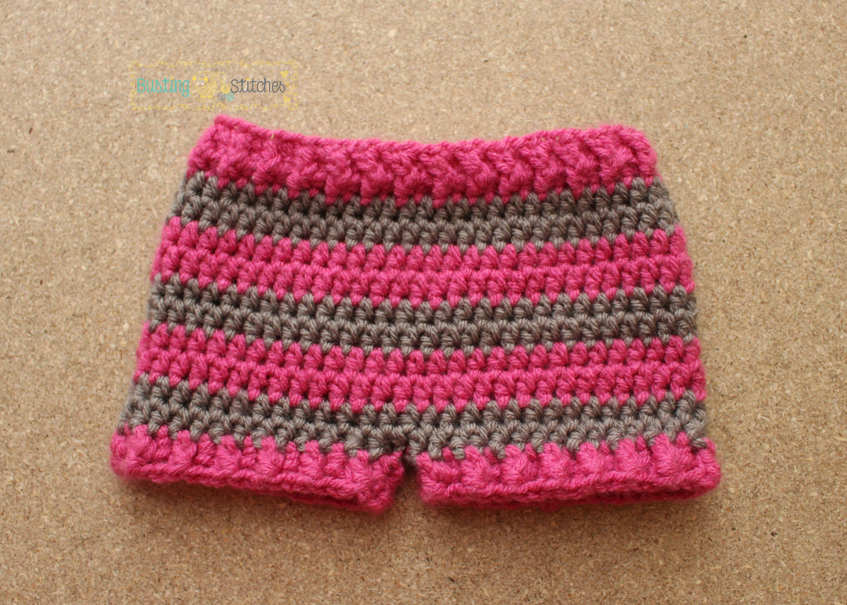 Simple Striped Shorts | Stitch, Shorts and Crochet patterns baby