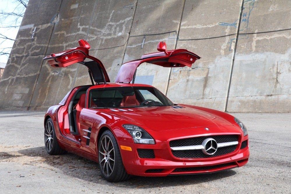 Used 2012 Mercedes Benz Sls Amg 6 3 Gullwing Astoria Ny
