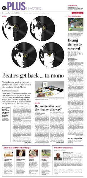 Beatles LP re-release