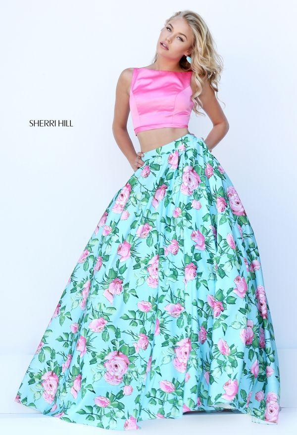 ebf1dc34d8 Foto 24 de 30 Conjunto dos piezas con top rosa y falda de flores con  bolsillos