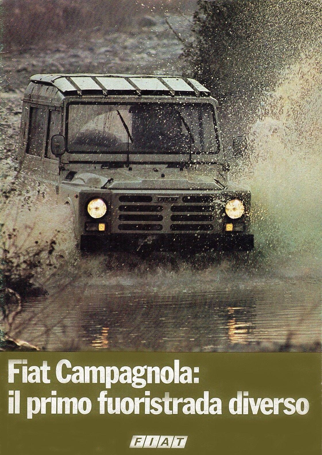 Fiat Campagnola | Automobile, Fuori strada, Fuoristrada