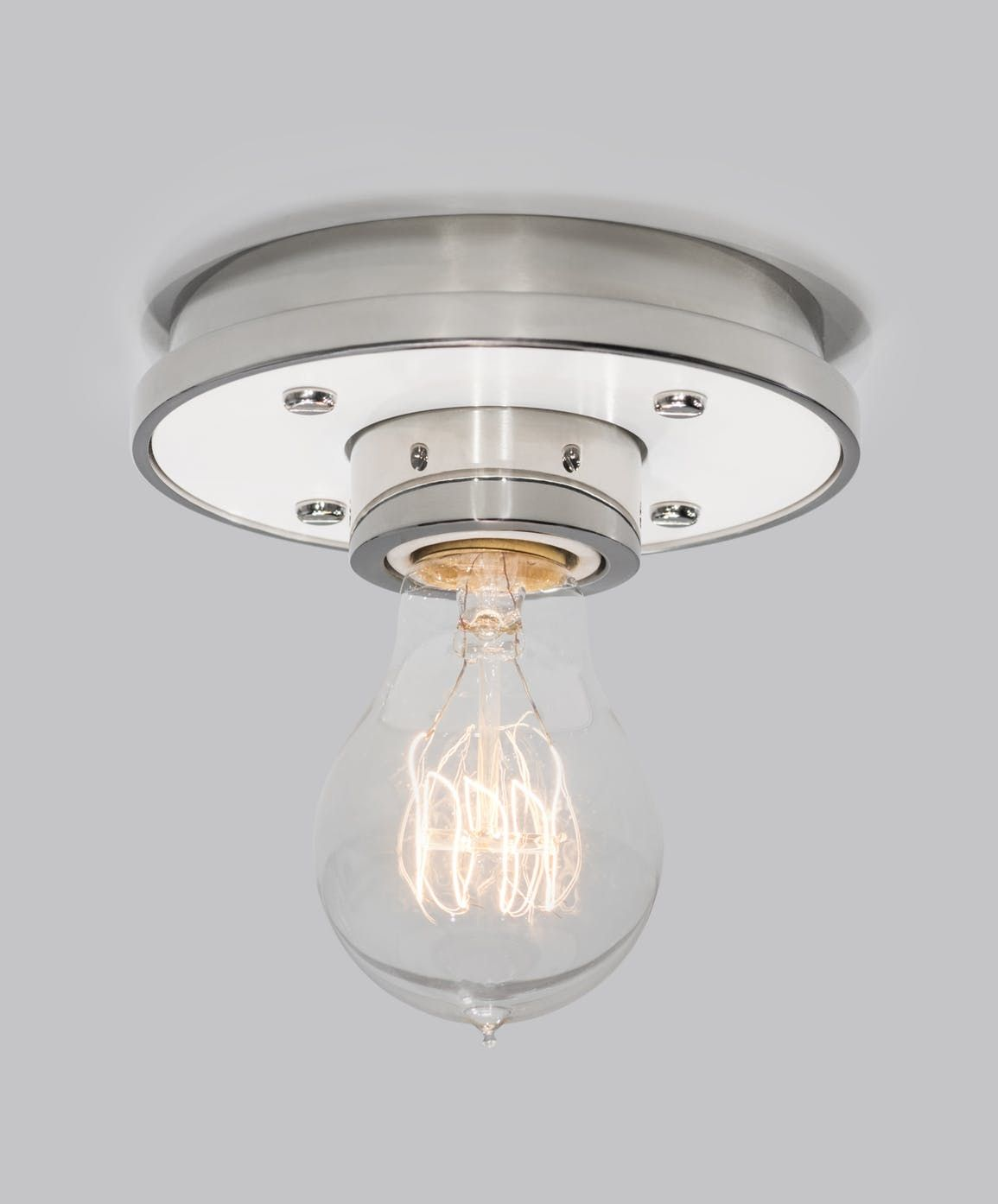 Buy pop round by the urban electric co quick ship designer lighting from dering halls collection of contemporary mid century modern transitional flush