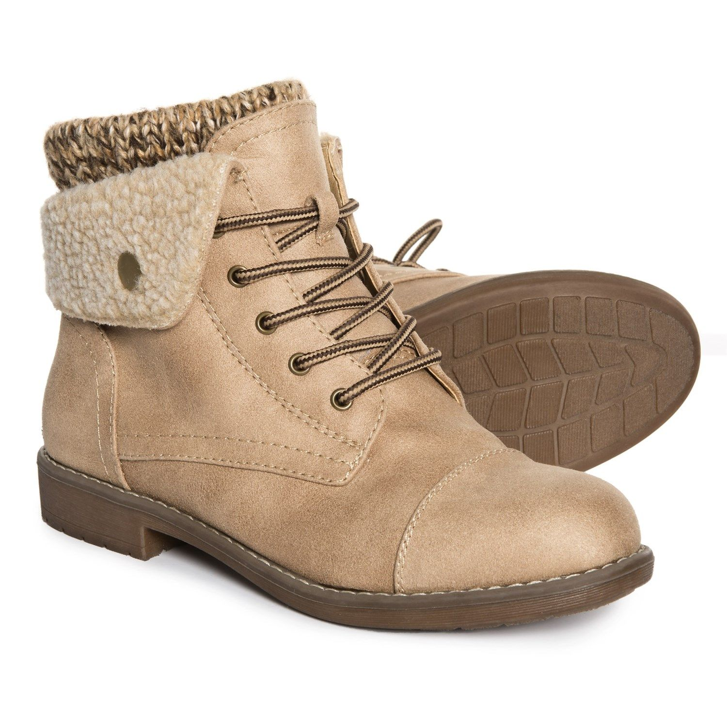 913071a6775 Cliffs by White Mountain Duena Hiking Boots (For Women) in Natural ...