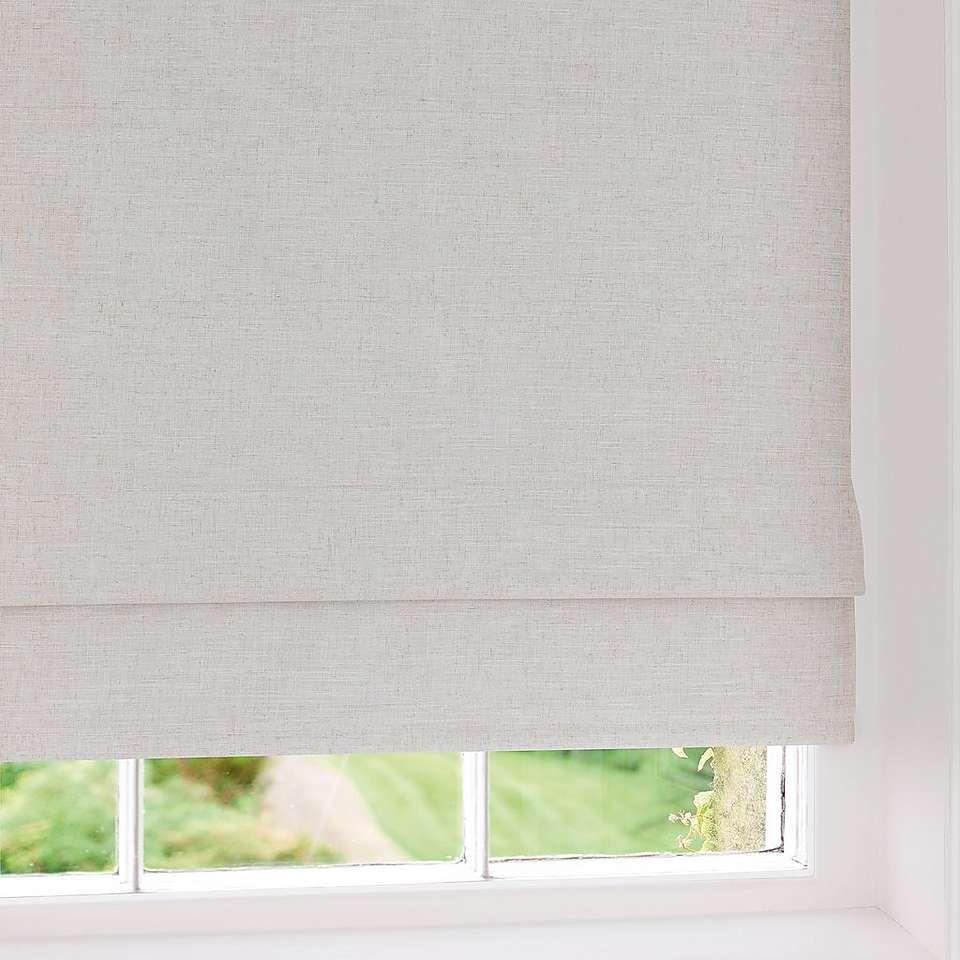 Blackout Bedroom Blinds Inspiration Dunelm Cream Linen Blackout Roman Blind  Blackout Roman Blinds Design Inspiration