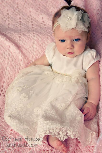 A Vintage Inspired Baby Blessing Dress Baby Blessing