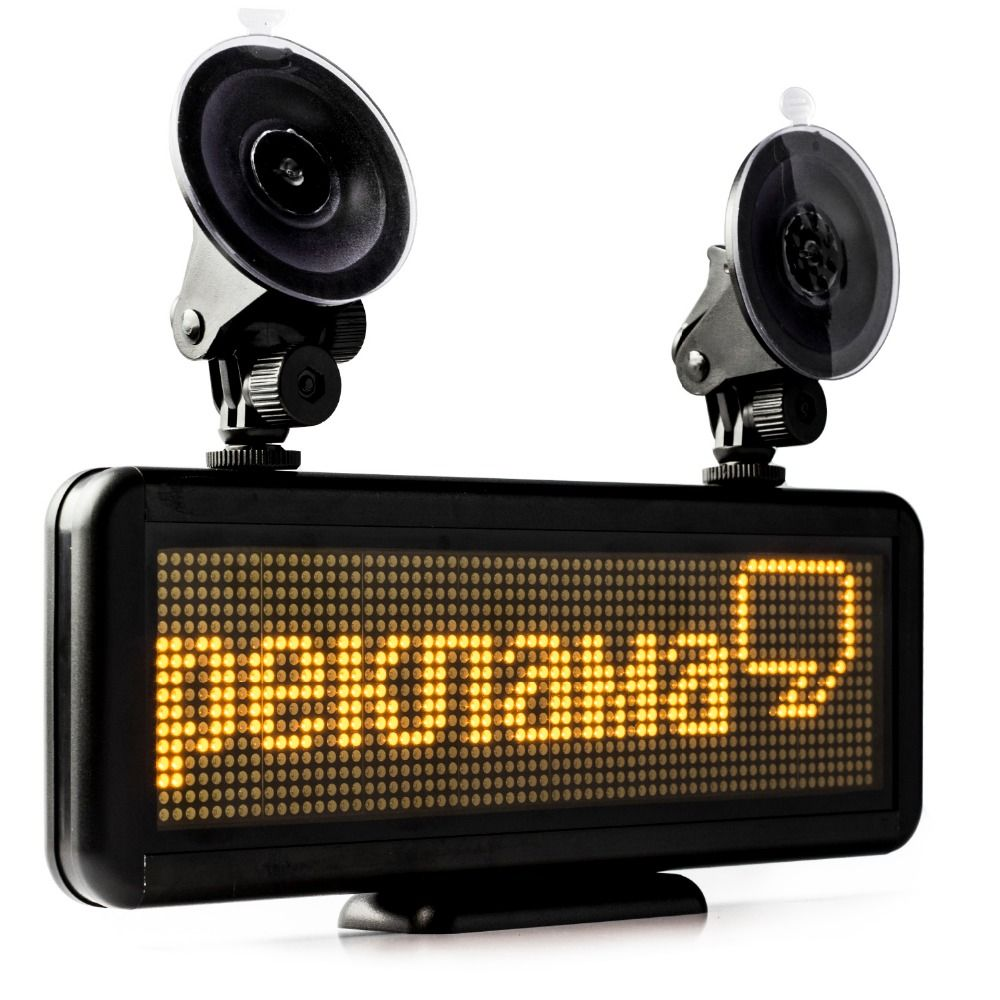 Like And Share If You Want This 17 X 4 3inch Scrolling Led Car Sign Car Led Display Board Led Programmable Message Sign 12v Diy Kit Yellow Tag A Friend