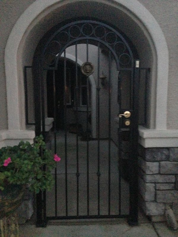 Courtyard Entry Gates Iron