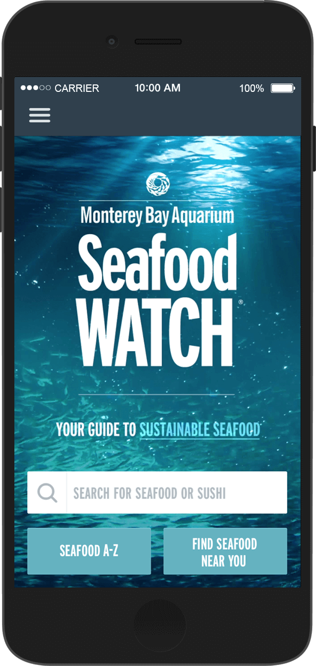 Seafood Watch App | Sustainable seafood, Monterey bay ...