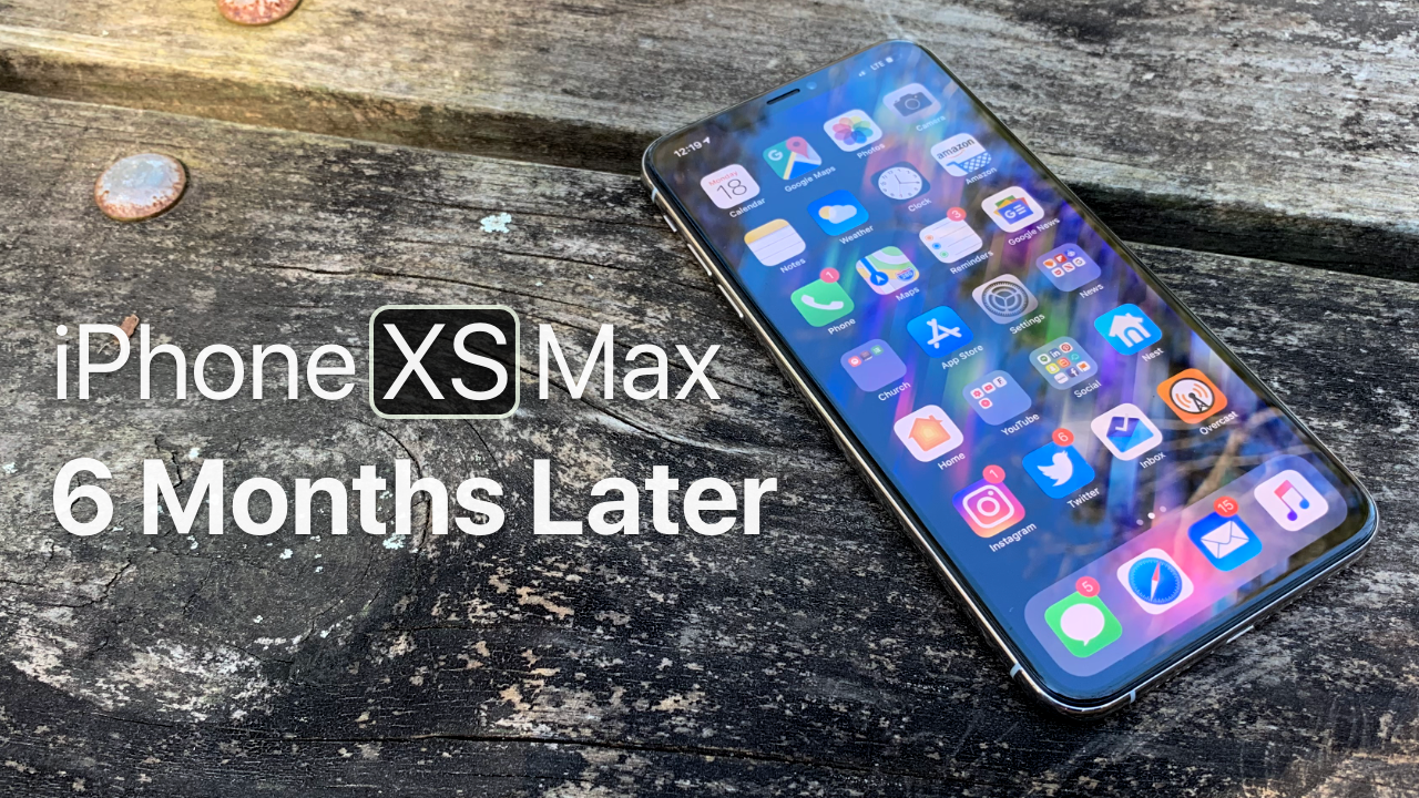 iPhone XS Max 6 Months Later Iphone, New mac mini, New