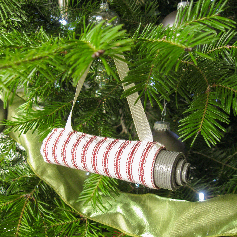 Yoga Gift Yoga Ornament Red Stripe Yoga Bag Christmas Ornament Yoga Studio Decor Secre Diy Christmas Ornaments Christmas Decorations To Make Yoga Christmas