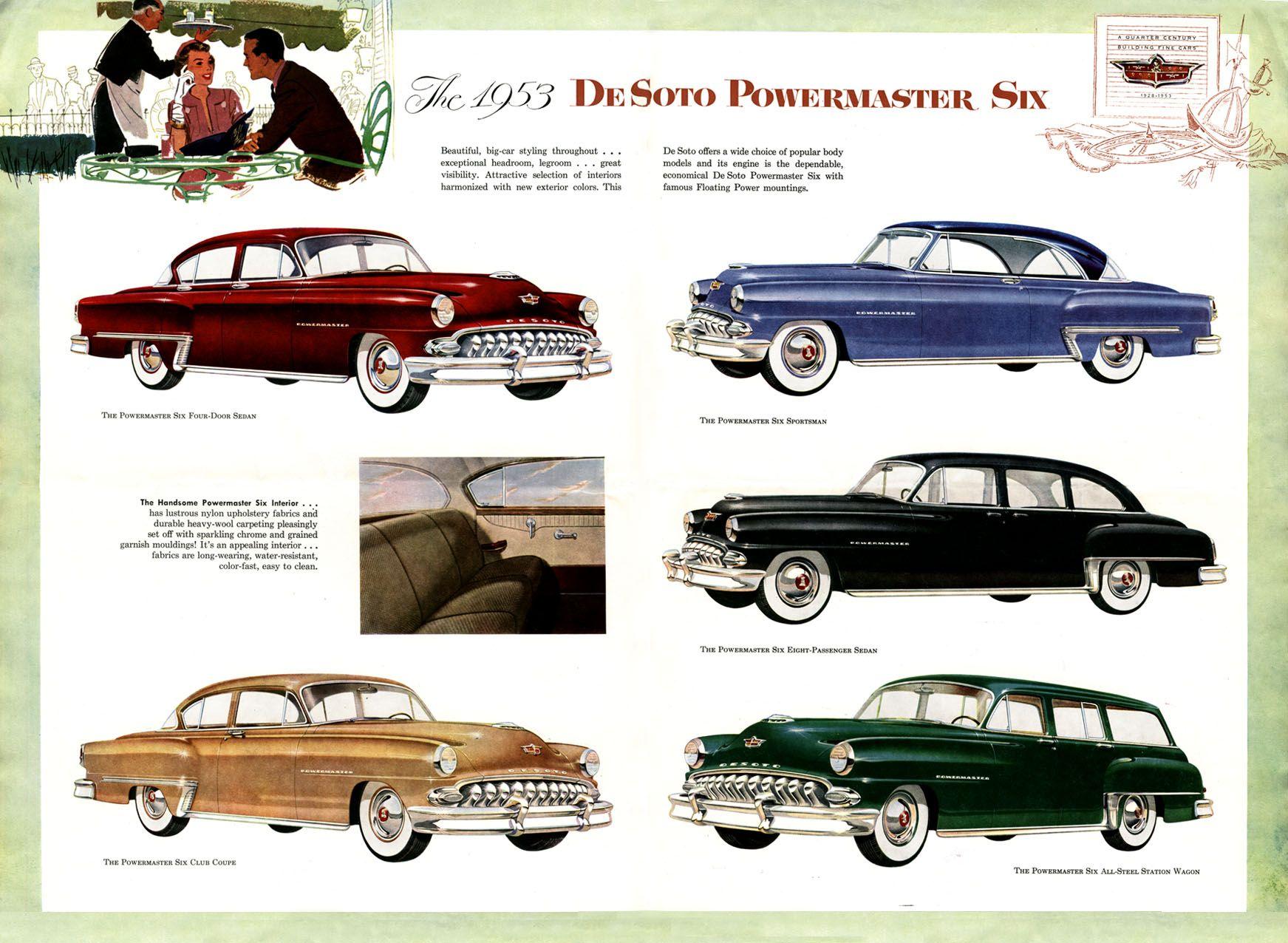 1956 desoto firedome seville 4 door hardtop 1 of 10 - 1953 Desoto Powermasters