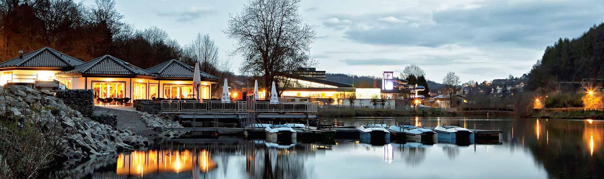 bootshaus olpe biggesee cafe restaurant lokal see