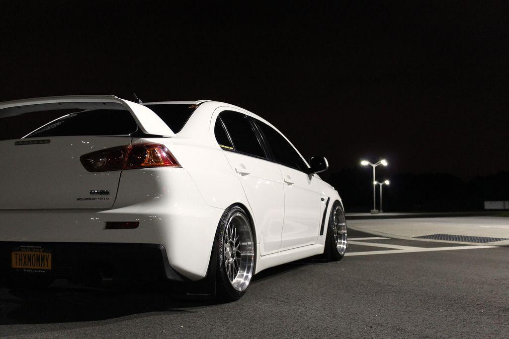 white evo x pictures google search - Mitsubishi Evo X Wicked White
