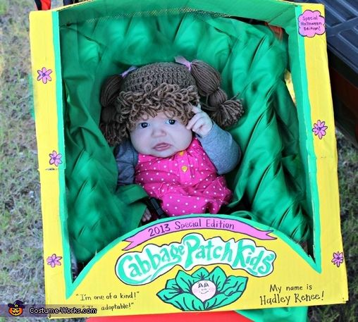 cabbage patch kid halloween costume contest - Cabbage Patch Halloween Costume For Baby