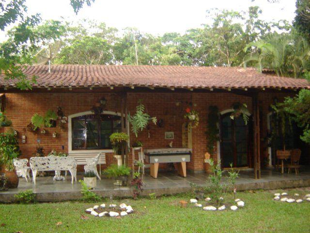 Casa de chacara com varanda pesquisa google fachada de - Casas pequenas de campo ...