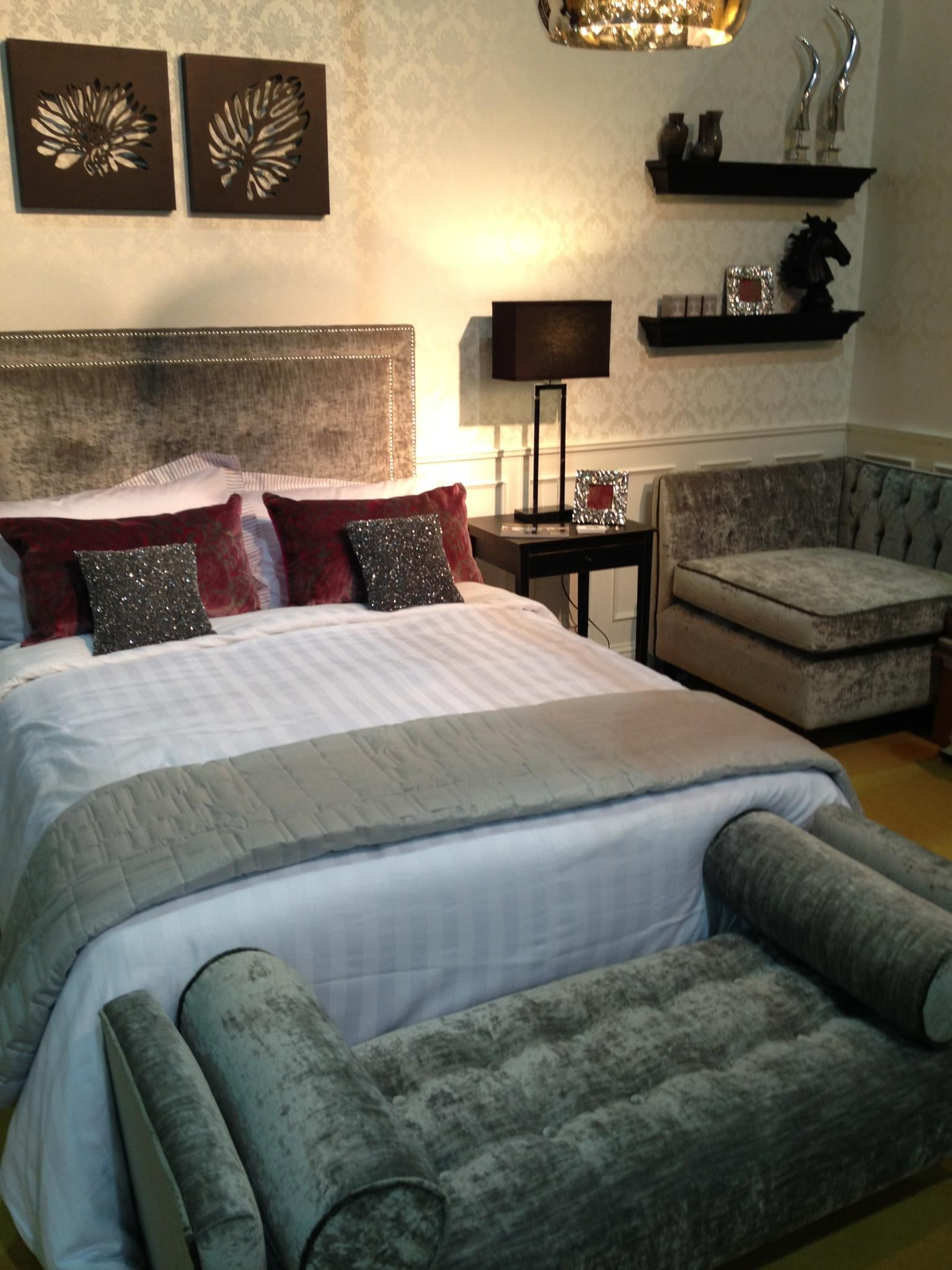 Conbu Interior Design Bedroom Display As Part Of Colortrend Interior Design  Forum, Ideal Home Show