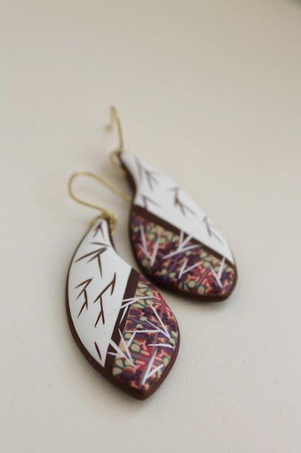 Earrings by ZUZU WORLD | Polymer Clay Planet