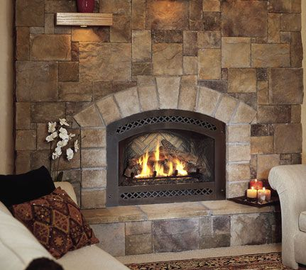 Image detail for cultured stone bucks county european for European home fireplace