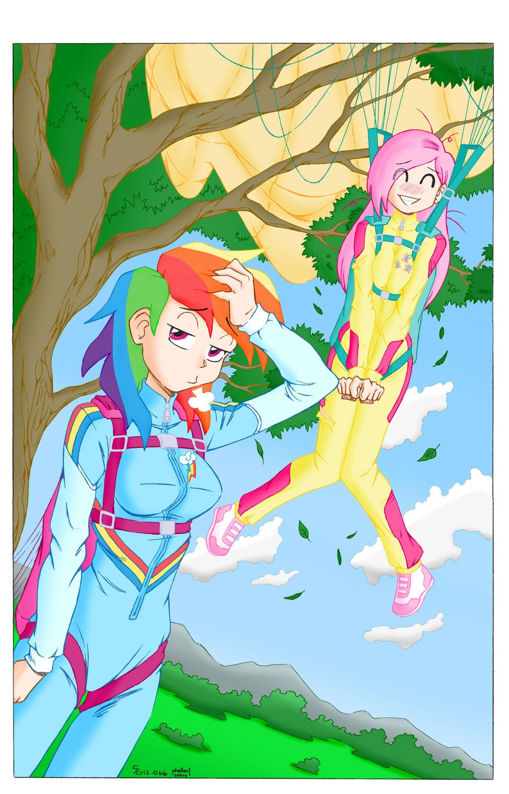 Ausmalbilder My Little Pony Discord : Fluttershy Can Really Fly By Phallen1 Deviantart Com On Deviantart