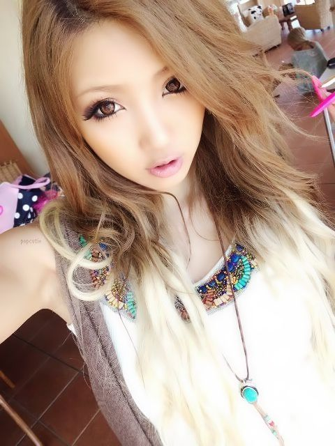 kinds of hair style suzuki manami egg gyaru gyaru asian 2820