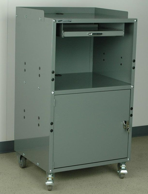 This Mobile Computer Cabinet Is Perfect For Dirty Industrial Environments  Where You Canu0027t Afford To Replace Your Computer Every Few Months Because Of  Dust ...