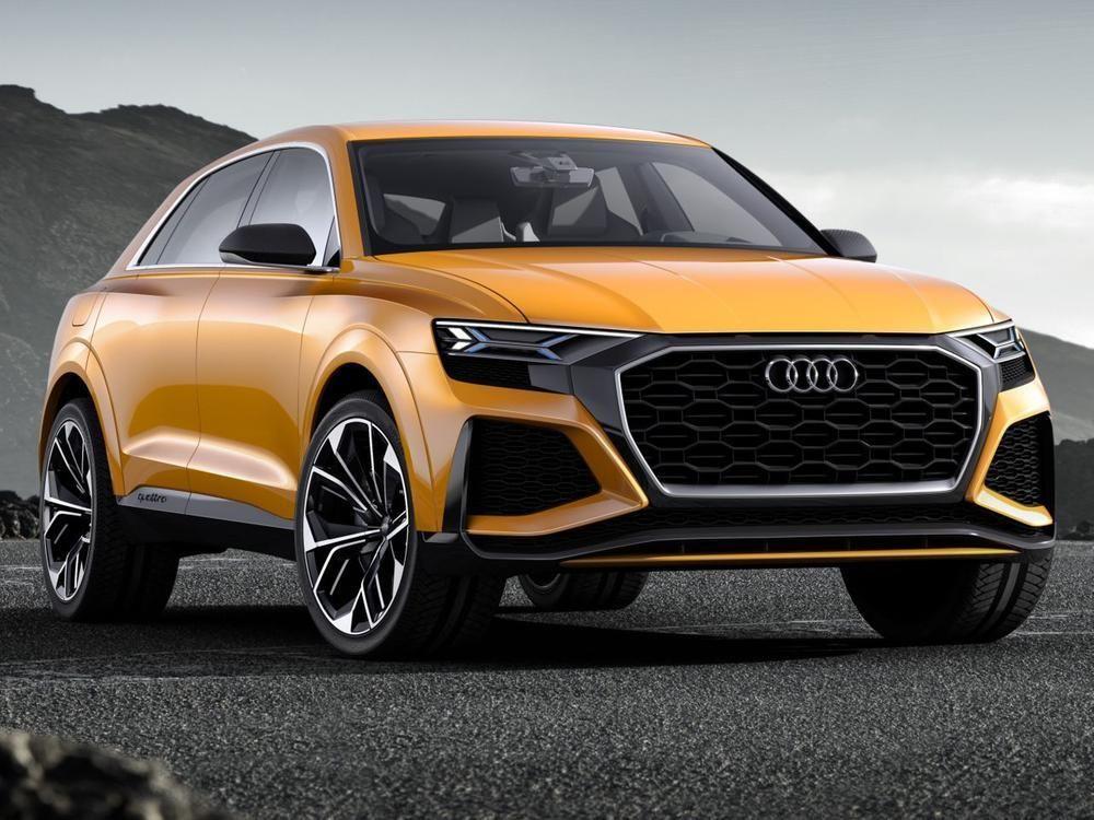 Audi Q8 Sport Concept In Genf Das Suv Coupé Bekommt Einen Potenten Antrieb Audi Suv Audi Cars Audi