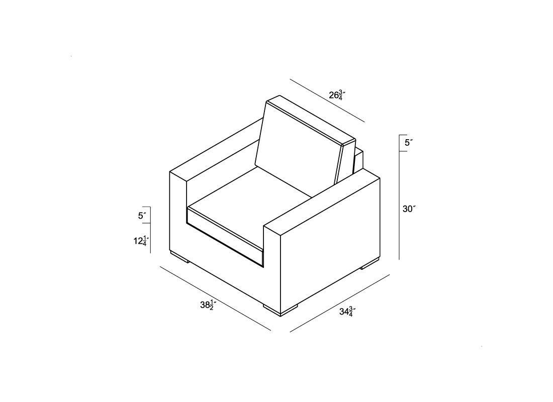 Sofa Chair Dimensions