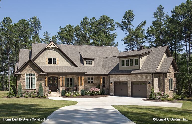 Pin On Craftsman Home Plans