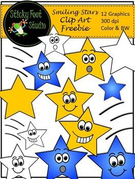 Stars Clip Art Freebie - 12 Color and BW #clipartfreebies Stars Clip Art Freebie - I hope you enjoy this free clip art set. You can find a lot more free clip art by browsing my shop, and I'm always adding more. I would love to have your feedback on this freebie and my other clip art products. Have fun! There are a total of 12 high quality transparent P... #clipartfreebies