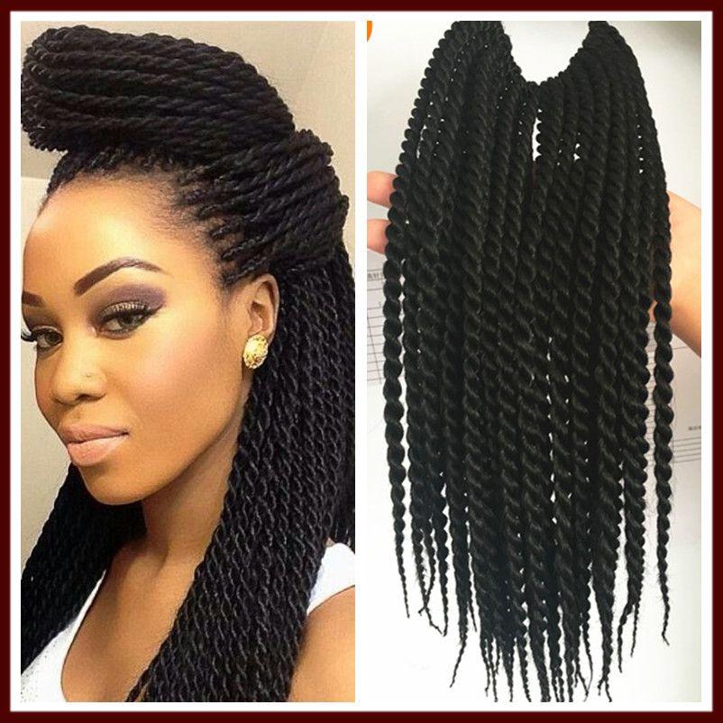 New 12 Small Havana Mambo Twist Crochet Braid Hair Senegalese Twist
