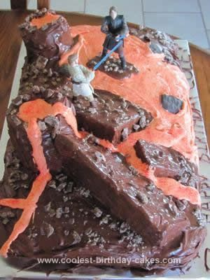 Coolest Star Wars Revenge of the Sith Cake 24 | Star Wars