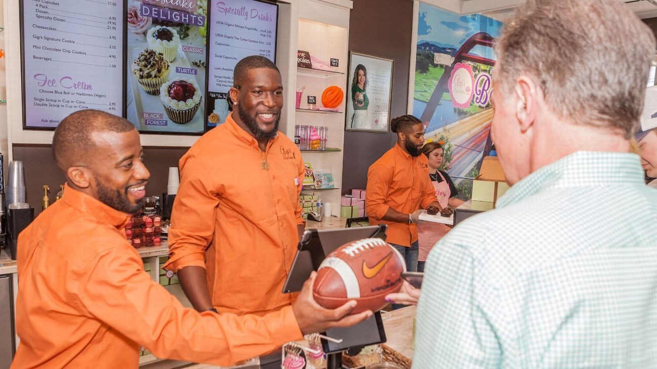 How two NFL players' sweet tooths made them handson