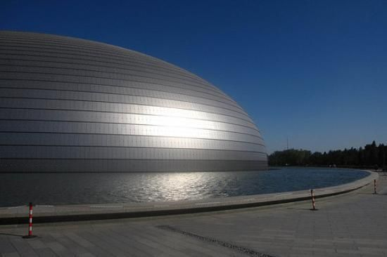go and wow at the architecture & pop in to see some music concerts at 'The Egg' (national centre for the performing arts) beijing
