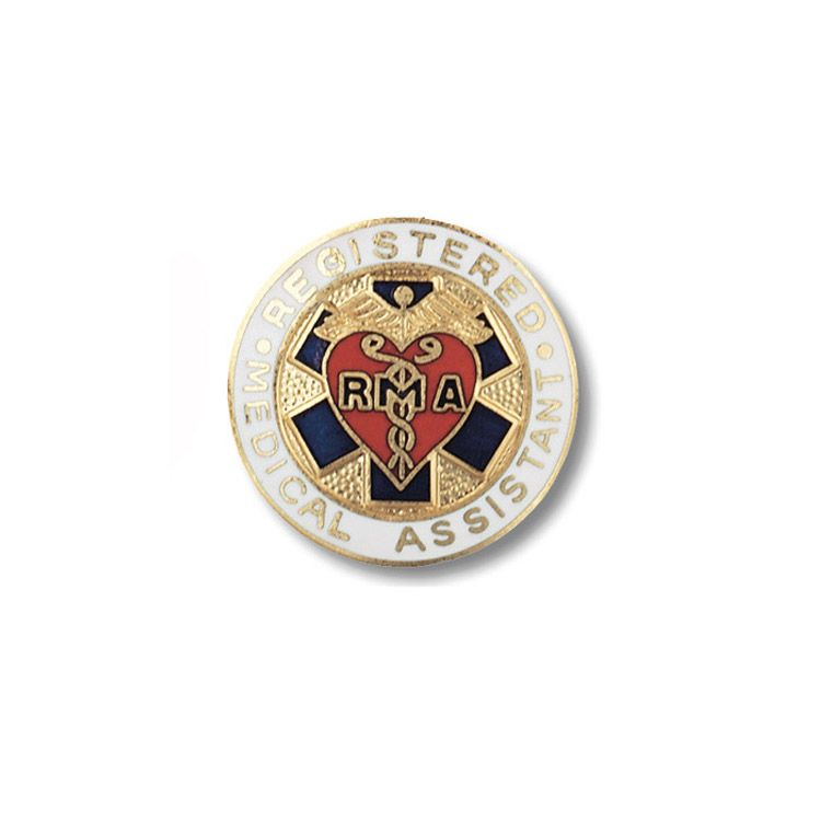 Medical Assistant, Registered - RMA Pin | Medical assistant and Medical