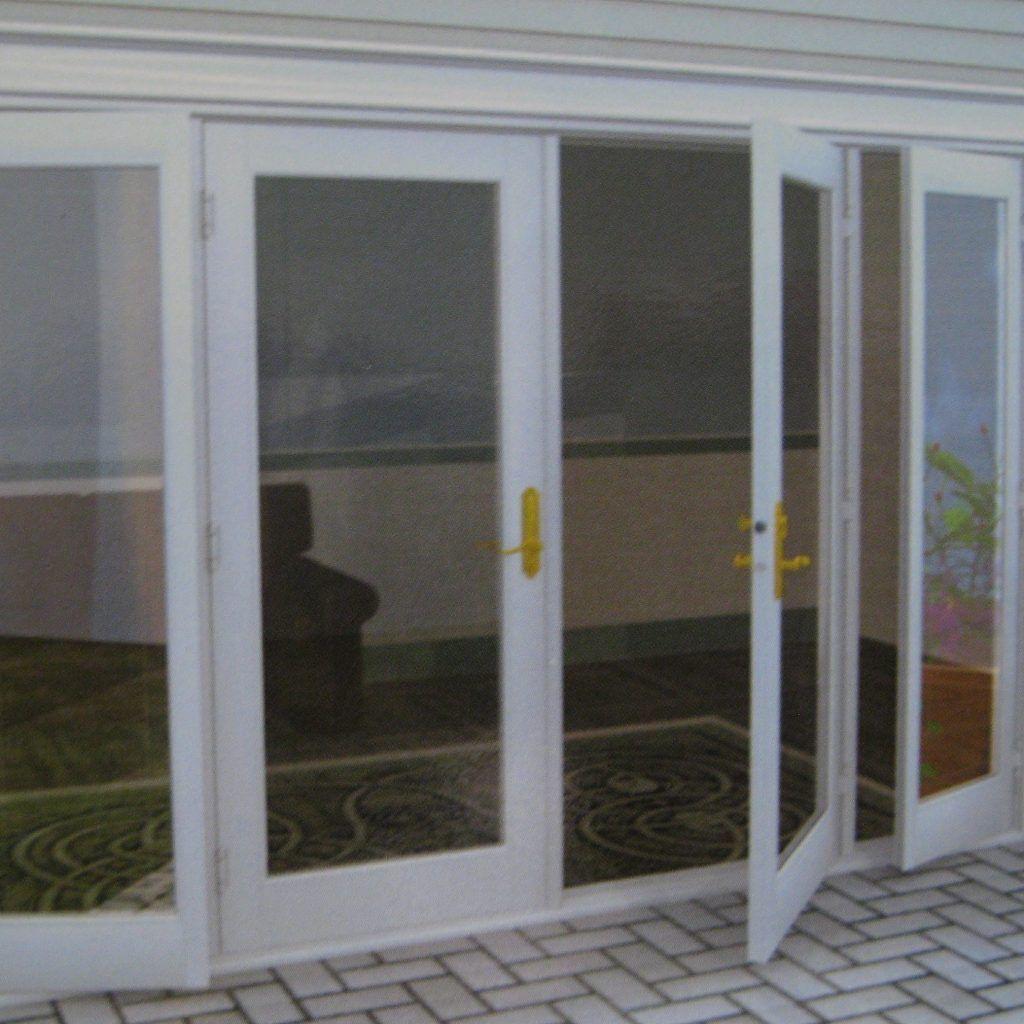 Double Exterior Patio Doors. Retrofit WindowsSliding ...